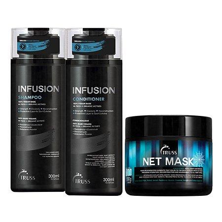 Truss Infusion Sh 300ml + Cd 300ml + Net Mask 550g