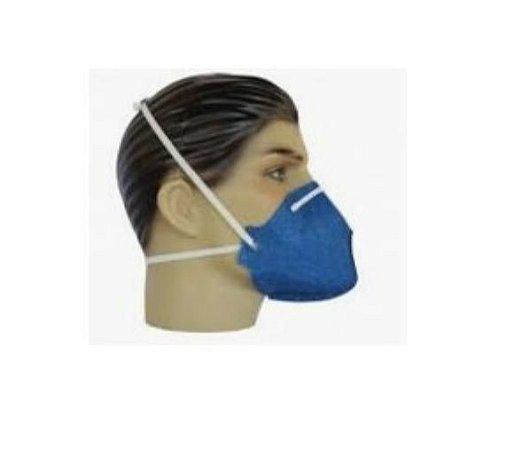 Máscara Contra Pó - Uso em Locais empoeirados e pessoas sensíveis ao pó, mofo e odores fortes - Alergoshop