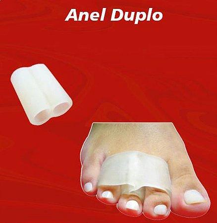 Anel Duplo em Gel Separador Dedos Sobrepostos - Tima - TM 477 - Tamanho P