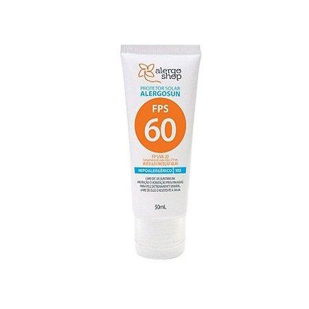 Protetor Solar Alergosun Hipoalergênico - Alergoshop  FPS 60 - 50ml