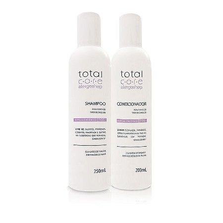 Kit Shampoo + Condicionador Hipoalergênico Total Care