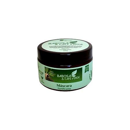 Máscara Capilar de Babosa e Café Verde Fortificante Vegano 300g - Baume Cosmetics