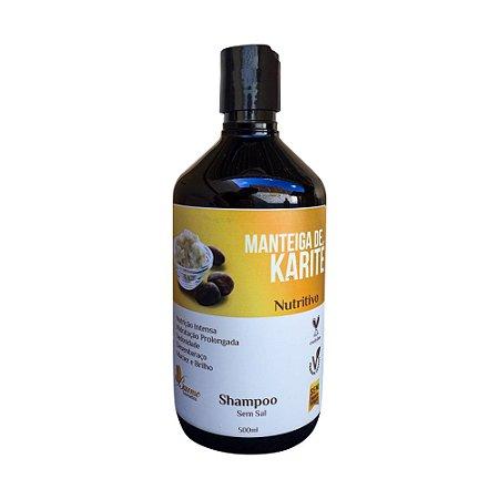Shampoo Manteiga de Karité Vegano Baume 500ml