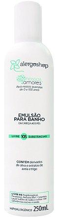 Shampoo Emulsão De Banho Nossos Amores Alergoshop 250ml