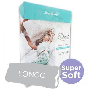 Capa para Travesseiro Longo 50 X 135 Super Soft Anti Ácaros - Alergoshop