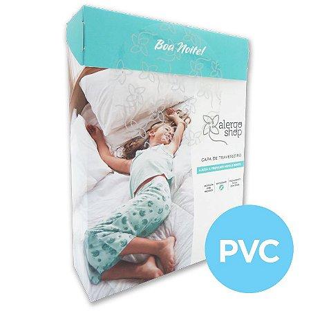 Capa para Travesseiro PVC Anti Ácaros 30x40 Alergoshop