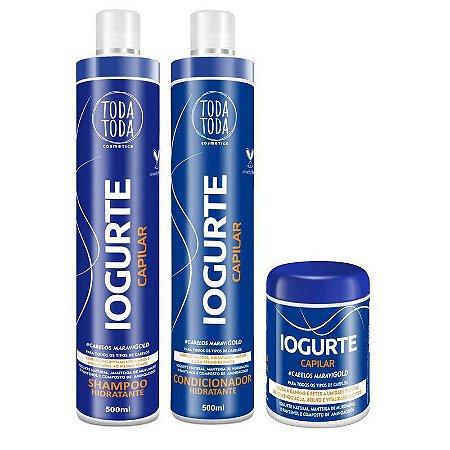 Kit Iogurte Shampoo + Condicionador + Máscara 250g