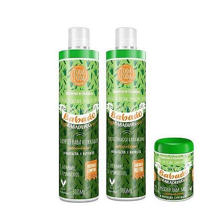Kit Babado Babadeiro Shampoo + Condicionador + Máscara 250g