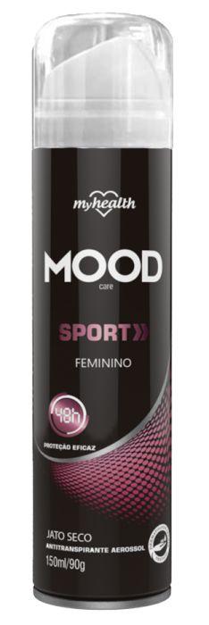 Antitranspirante Mood Sport Woman Spray 150ml - My Health