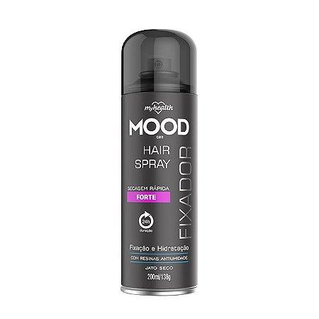Fixador de Cabelo Forte Mood 200ml - My Health