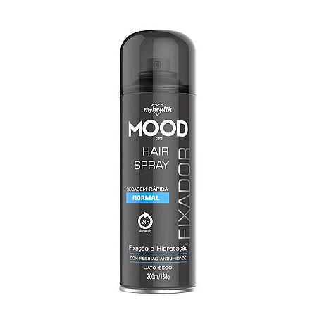 Fixador de Cabelo Normal Mood 200ml - My Health