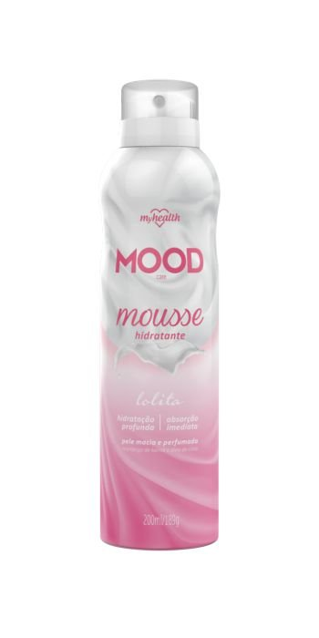 Mousse Hidratante Mood 200ml - My Health