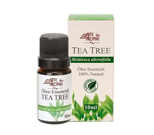 Óleo Essencial Tea Tree Melaleuca 10ml Arte dos Aromas