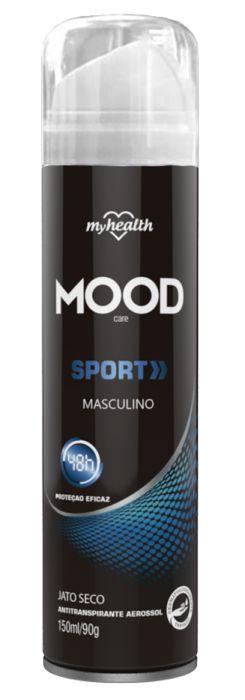 Antitranspirante Mood Sport Men Spray 150ml - My Health