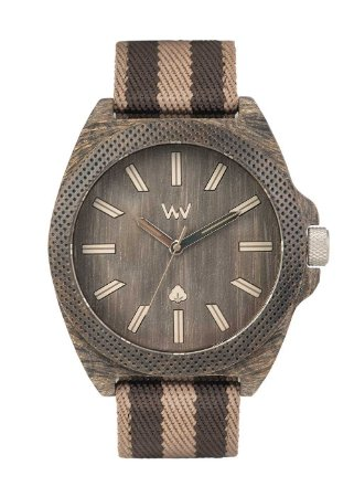 Relógio de Madeira WeWOOD Phoenix 46 Wenge Earth