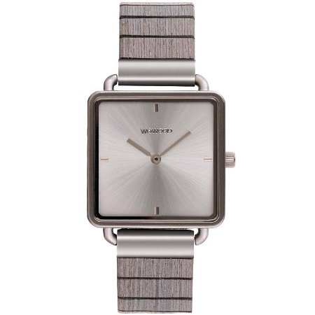 Relógio de Madeira WeWOOD Leia Silver