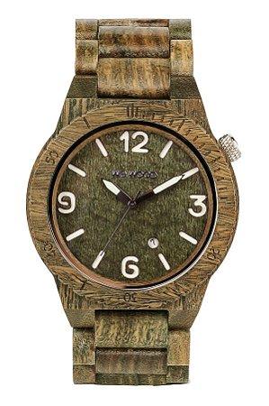 Relógio de Madeira WeWOOD Alpha Army