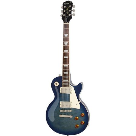 Guitarra Epiphone Les Paul Standard Plus Top PRO Transblue