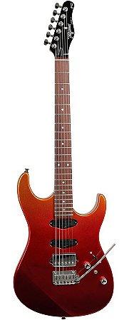 Guitarra Tagima Stella H3 Autumn Fade Metallic Red