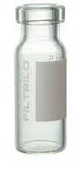 Vial em vidro borossilicato, Incolor, 11,6x32 (100 unidades)