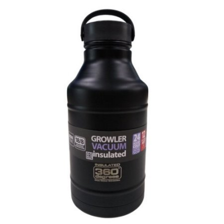 Garrafa Térmica Growler 1,8L Nautika - Preto