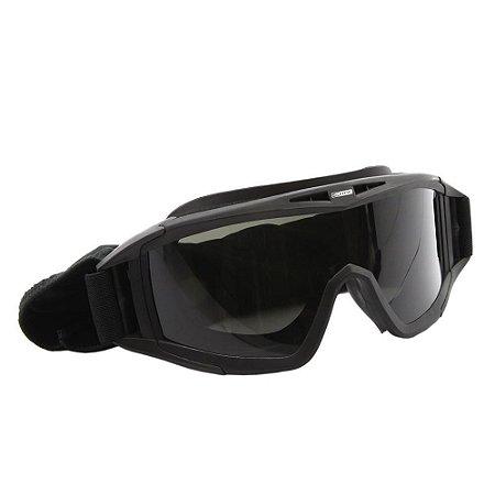 Óculos Tático P/ Airsoft Nautika - Preto