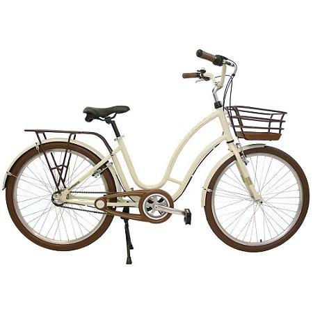 Bicicleta Aro 26 Vintage Treme Terra - Pérola
