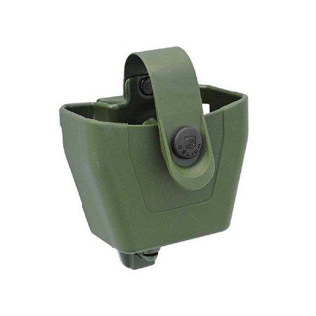 Porta Algema Em Polímero Bélica Cinto Clip - Verde