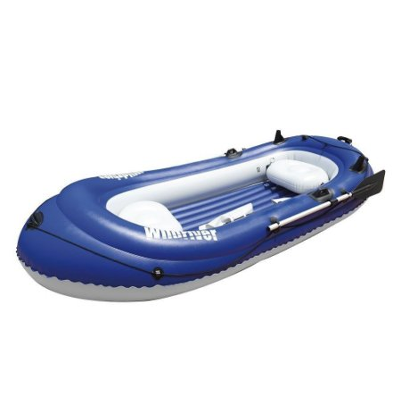 Barco Inflável Wild River Nautika - Azul