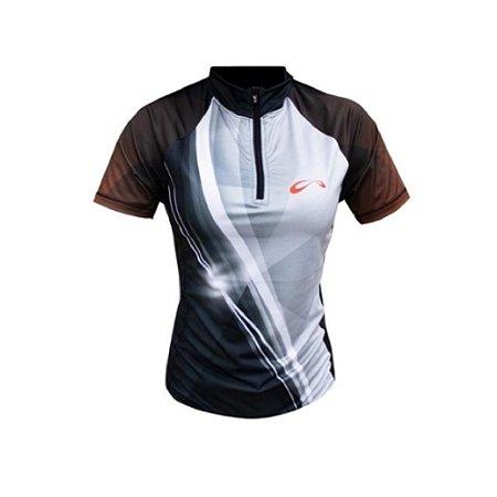 Camiseta de Ciclismo Sublimada Print Feminina Sol Sports