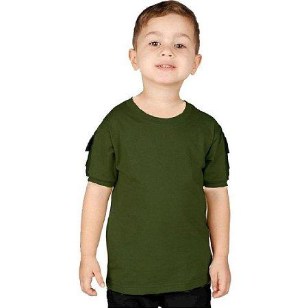 Camiseta Ranger Kids Bélica - Verde Escuro