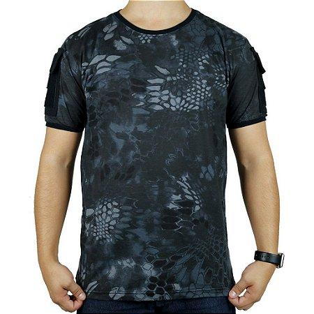 Camiseta Tática Masculina Ranger Bélica Camuflado Typhon