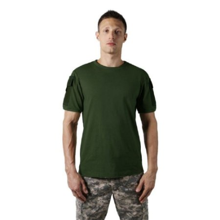 Camiseta Tática Masculina Ranger Bélica - Verde Escuro