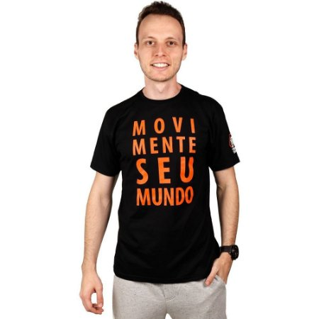 Kit 2 Camisetas Movimente Seu Mundo - Sortidas
