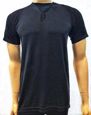 Camiseta Treme Terra Seamless - Preto