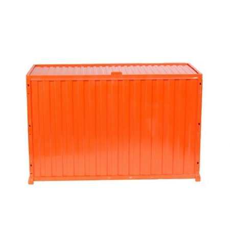 Caixa Mini Container Multiuso Treme Terra - Laranja