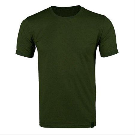Camiseta Masculina Soldier Bélica - Verde Escuro