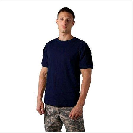 Camiseta Tática Masculina Ranger Bélica - Azul