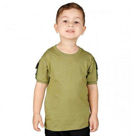 Camiseta Ranger Kids Bélica - Verde Oliva