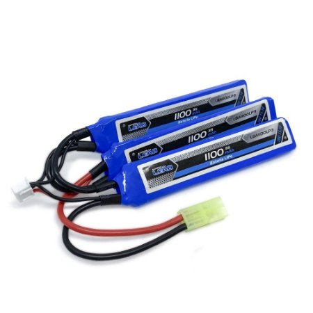 Bateria Lipo - 11.1V/3S (3 Pack) - 20C/40 Airsoft