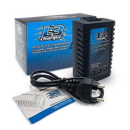 Carregador De Bateria Lipo L3 Charger Leão Modelismo Bivolt