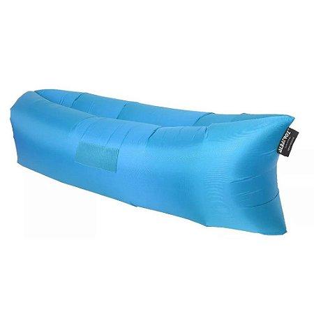 Sofá Inflável Preguiçosa Albatroz - Azul