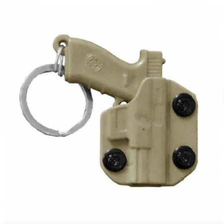 Chaveiro Coldre Holster Bélica - Coyote