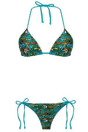 Bikini Saudades da Gente Green Camo
