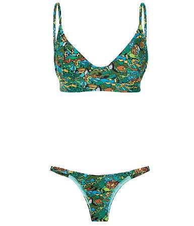 Bikini Pandora Green Camo