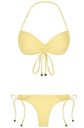 Bikini Flores Amarelo