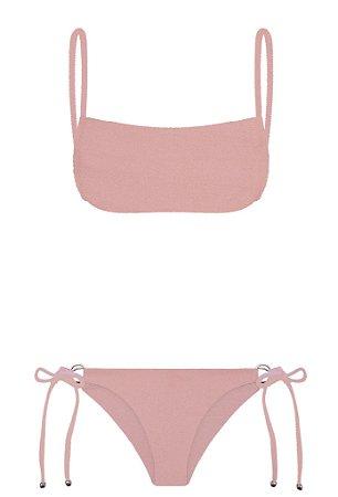 Bikini Tudo de Bom Ouro Rosa