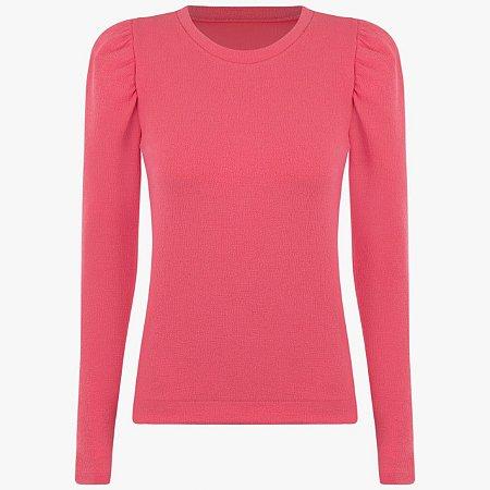 Blusa Moletom Pink