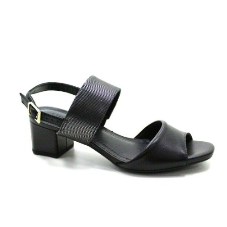 Sandália Salto Médio Usaflex