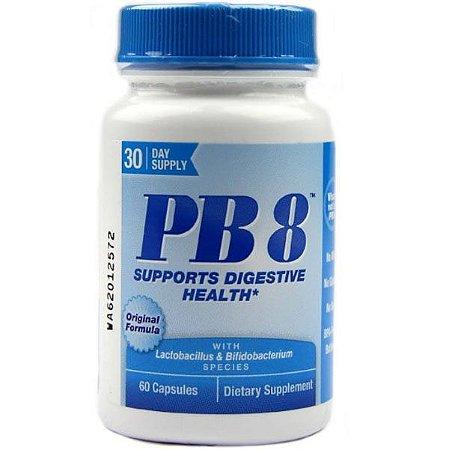 Probiótico Nutrition Now PB8 Fórmula Original 60 caps